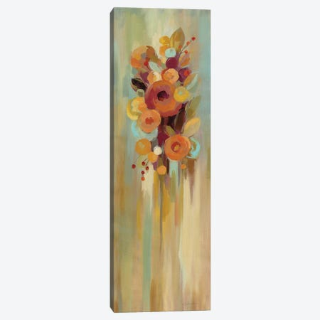 Tall Autumn Flowers I Canvas Print #SIV19} by Silvia Vassileva Canvas Artwork