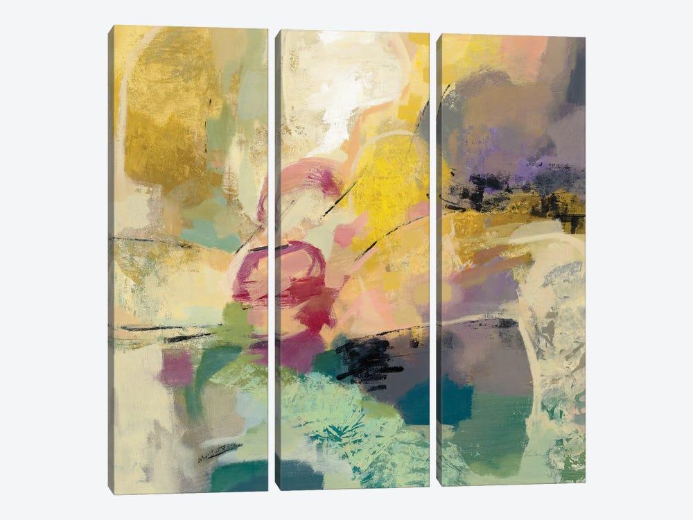 Mid Mod Mood by Silvia Vassileva 3-piece Canvas Print
