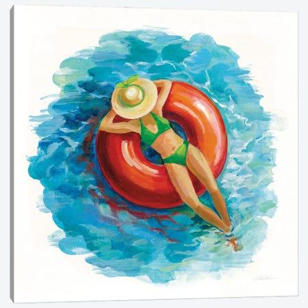 Sunbather I Canvas Print #SIV202} by Silvia Vassileva Canvas Art