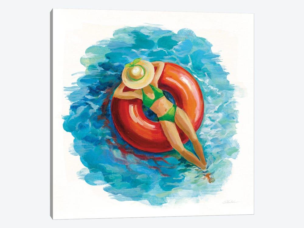 Sunbather I by Silvia Vassileva 1-piece Canvas Art Print