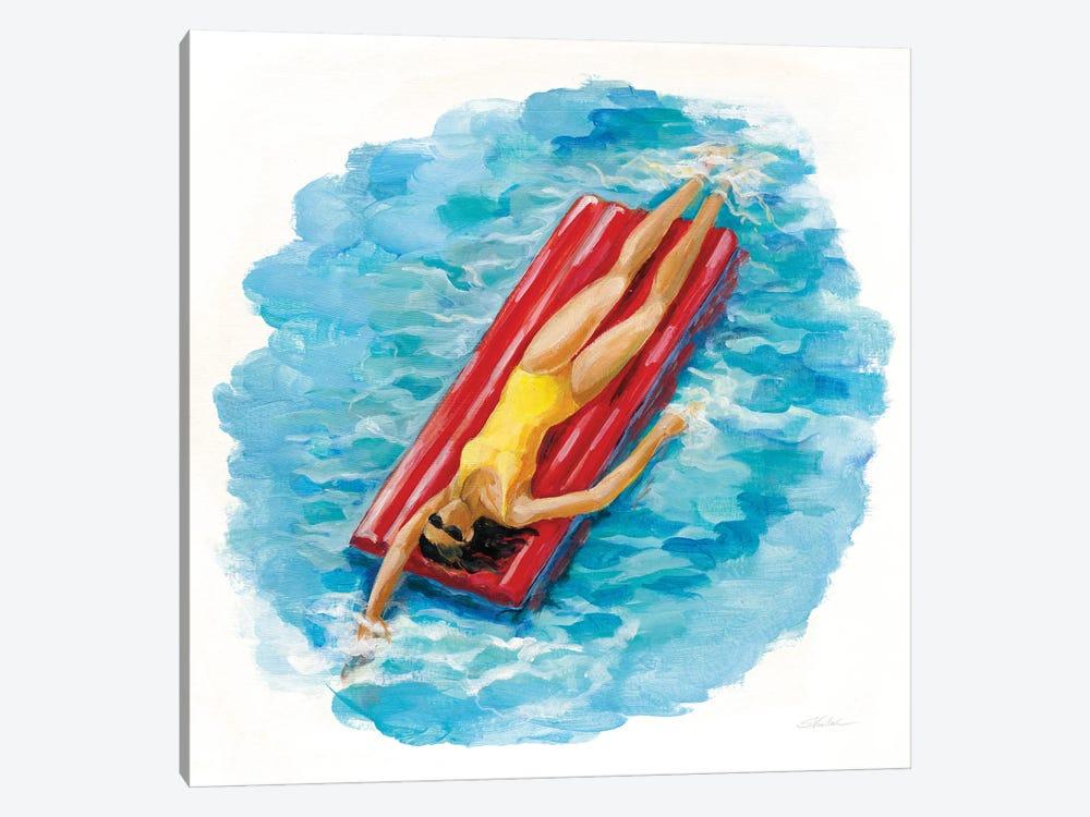 Sunbather II by Silvia Vassileva 1-piece Canvas Art