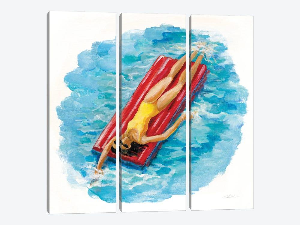 Sunbather II by Silvia Vassileva 3-piece Canvas Artwork