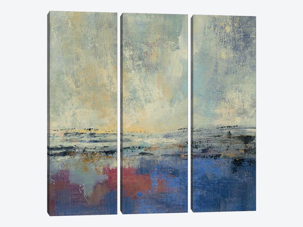 Coastal View I v2 by Silvia Vassileva 3-piece Art Print