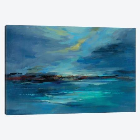 Early Morning Sea Canvas Print #SIV209} by Silvia Vassileva Canvas Art