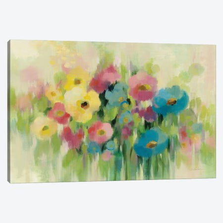 First Spring Flowers Canvas Print #SIV212} by Silvia Vassileva Canvas Art Print