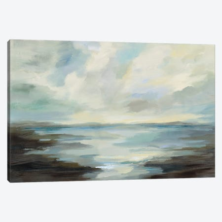 Northern Lagoon Canvas Print #SIV219} by Silvia Vassileva Art Print
