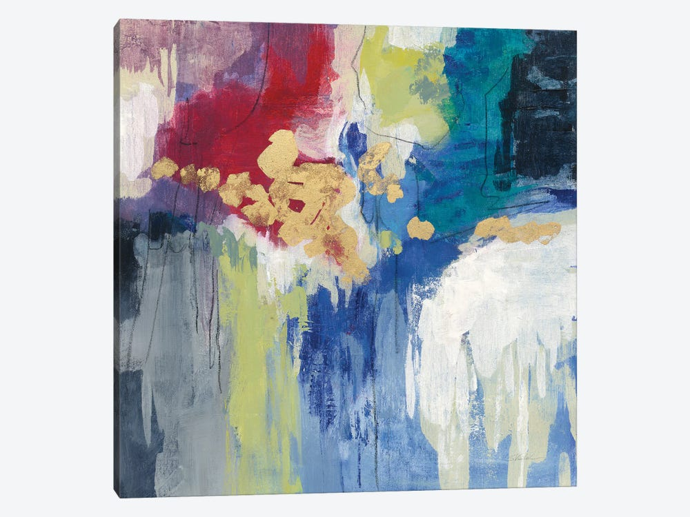 Sparkle Abstract III by Silvia Vassileva 1-piece Canvas Print