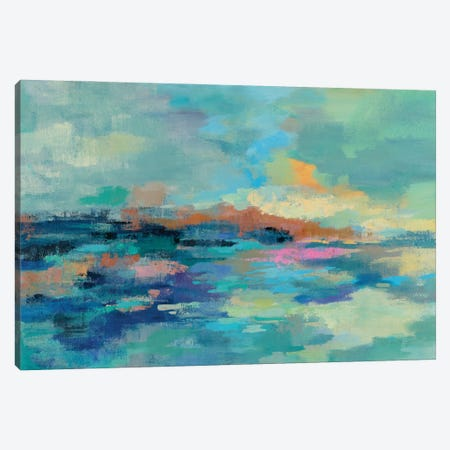 Summer Seaside Canvas Print #SIV227} by Silvia Vassileva Canvas Art Print