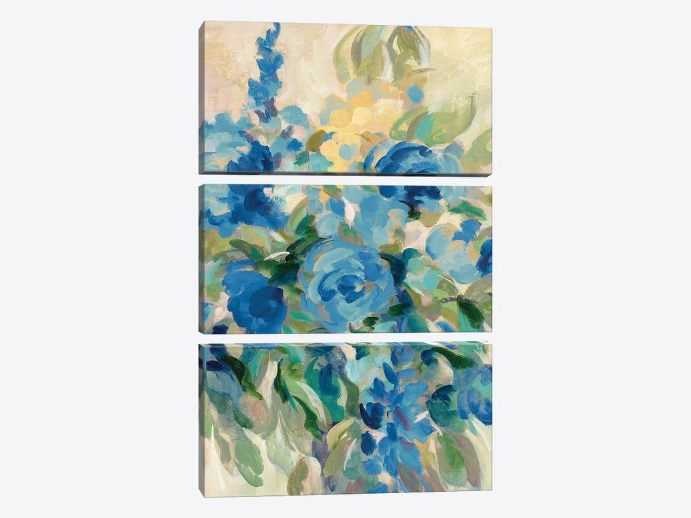 Flower Market III by Silvia Vassileva 3-piece Canvas Artwork