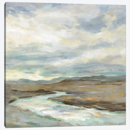 Iceland Silver River Canvas Print #SIV237} by Silvia Vassileva Canvas Art