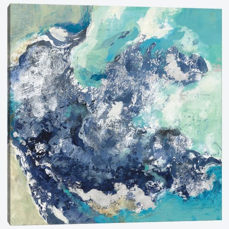 Turquoise Canvas Print #SIV248} by Silvia Vassileva Canvas Art