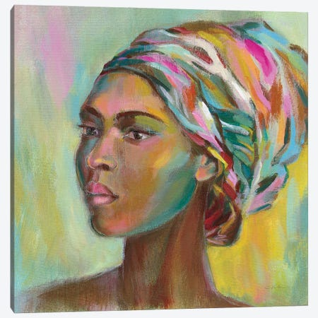 African Woman II Canvas Print #SIV251} by Silvia Vassileva Canvas Art Print
