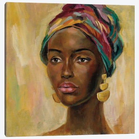 African Face II Canvas Print #SIV253} by Silvia Vassileva Canvas Art Print