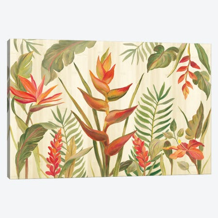 Tropical Garden VII Canvas Print #SIV271} by Silvia Vassileva Canvas Art Print