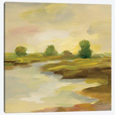 Chartreuse Fields I Canvas Print #SIV275} by Silvia Vassileva Canvas Art
