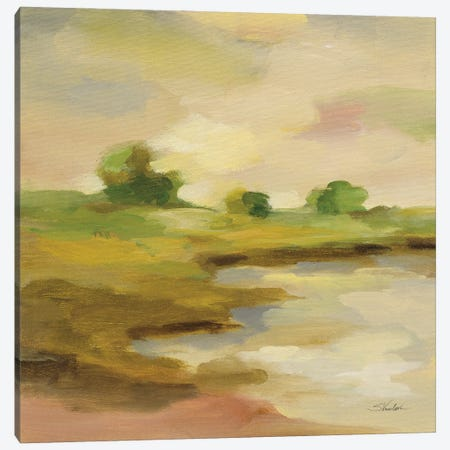 Chartreuse Fields II Canvas Print #SIV276} by Silvia Vassileva Canvas Art