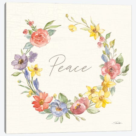 Happy Easter V Canvas Print #SIV292} by Silvia Vassileva Canvas Print