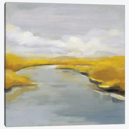 Maine Fall River Canvas Print #SIV297} by Silvia Vassileva Canvas Artwork