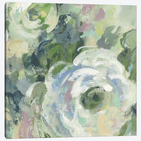 Sage and Lavender Peonies III Light Canvas Print #SIV30} by Silvia Vassileva Canvas Wall Art