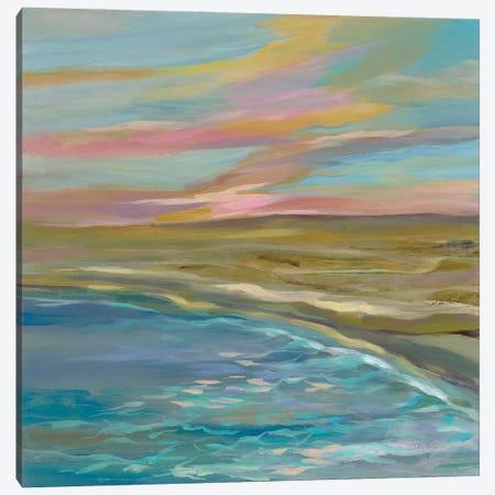 Sunrise Dunes Canvas Print #SIV310} by Silvia Vassileva Canvas Wall Art