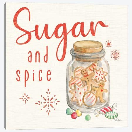 Gingerbread Christmas V Canvas Print #SIV318} by Silvia Vassileva Canvas Art