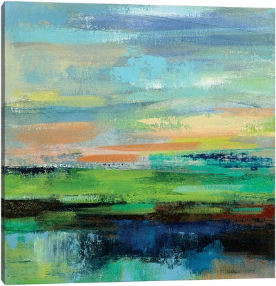Delmar Sunset II by Silvia Vassileva Canvas Art Print