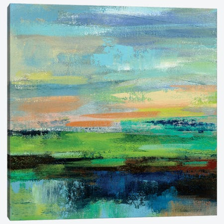 Delmar Sunset II Canvas Print #SIV32} by Silvia Vassileva Canvas Art