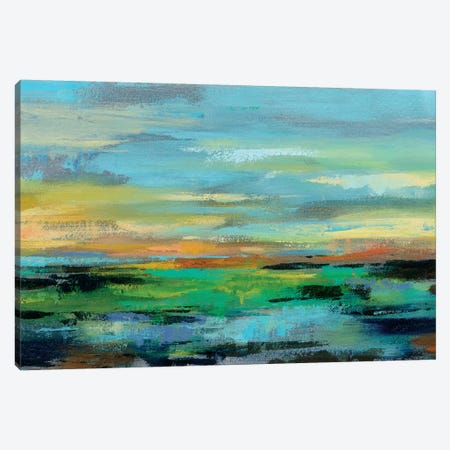 Delmar Sunset I Canvas Print #SIV40} by Silvia Vassileva Canvas Art Print