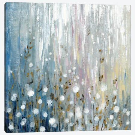 January Branches Flowers Canvas Print #SIV44} by Silvia Vassileva Canvas Artwork