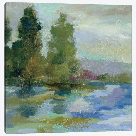 Sunrise at the Lake I Canvas Print #SIV55} by Silvia Vassileva Canvas Art Print