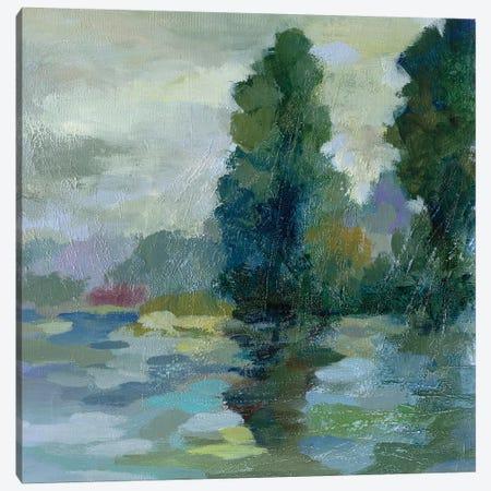 Sunrise at the Lake II Canvas Print #SIV56} by Silvia Vassileva Canvas Print