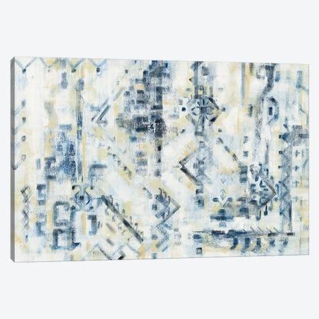Scattered Indigo Canvas Print #SIV65} by Silvia Vassileva Canvas Artwork