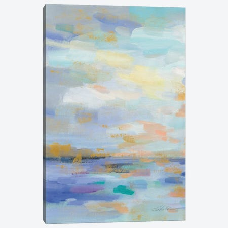 Golden Sunrise II Canvas Print #SIV6} by Silvia Vassileva Canvas Art Print