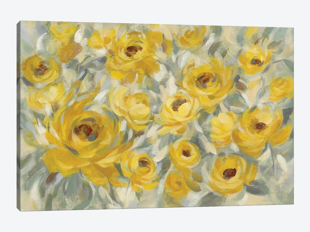 Yellow Roses by Silvia Vassileva 1-piece Art Print