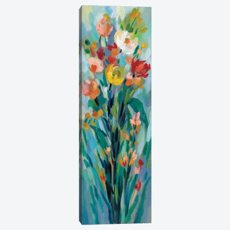 Tall Bright Flowers I Canvas Print #SIV76} by Silvia Vassileva Canvas Art Print