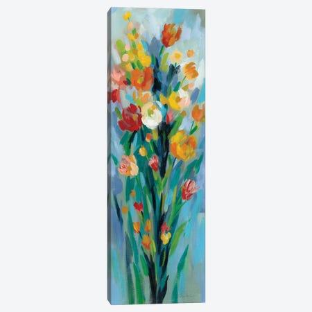 Tall Bright Flowers II Canvas Print #SIV77} by Silvia Vassileva Art Print