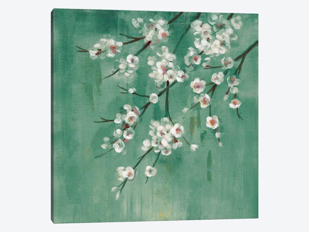 Cherry Cloud I Jade by Silvia Vassileva 1-piece Canvas Print