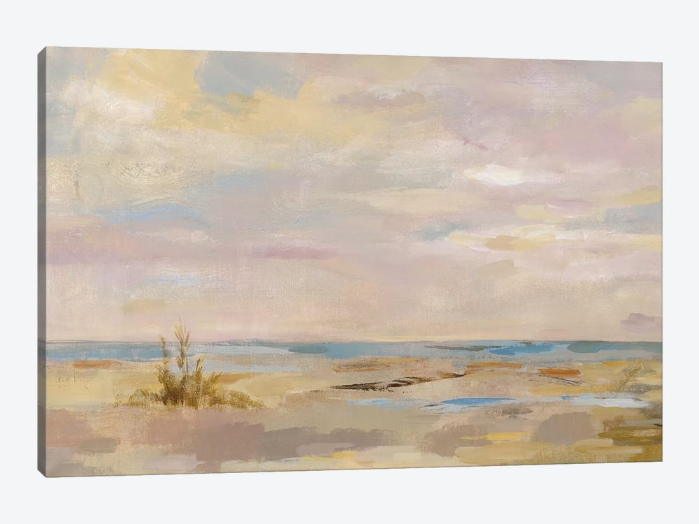 Dreamy Beach by Silvia Vassileva 1-piece Canvas Artwork