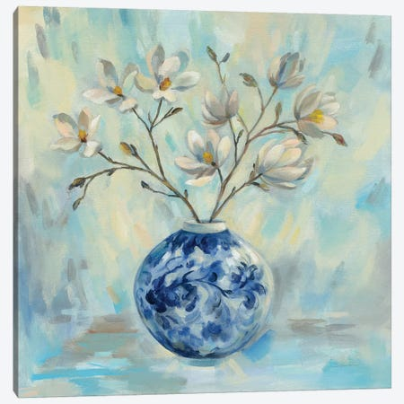 Chinoiserie and Branches Canvas Print #SIV99} by Silvia Vassileva Canvas Artwork