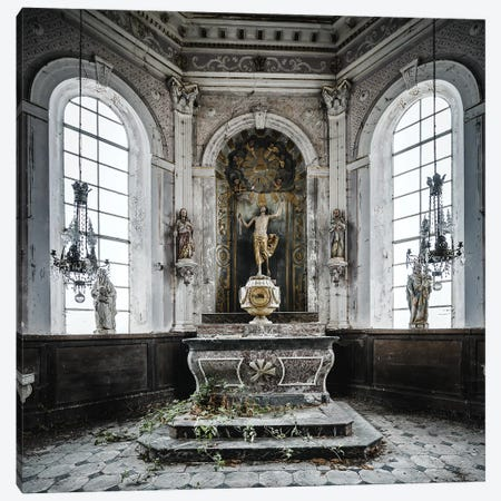 Chapel Squeeze Canvas Print #SIY3} by Simon Yeung Art Print