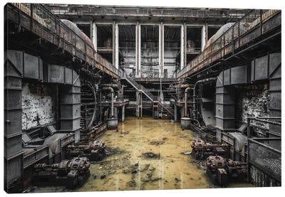 Industrial Monster Canvas Art Print