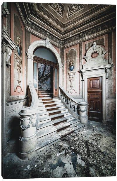 A Grand Entrance Canvas Art Print