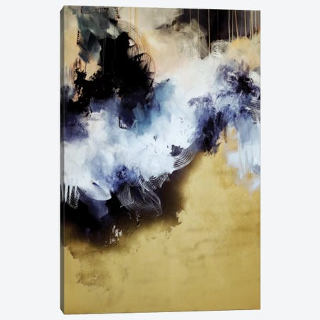 Let's Go Back 3-Piece Canvas #SJA10} by Sana Jamlaney Canvas Print
