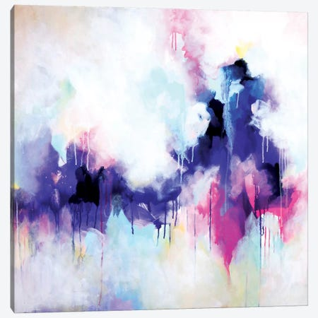 Letting Go 3-Piece Canvas #SJA11} by Sana Jamlaney Canvas Print