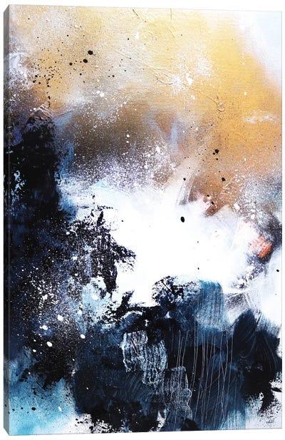 Melting Gold I Canvas Art Print