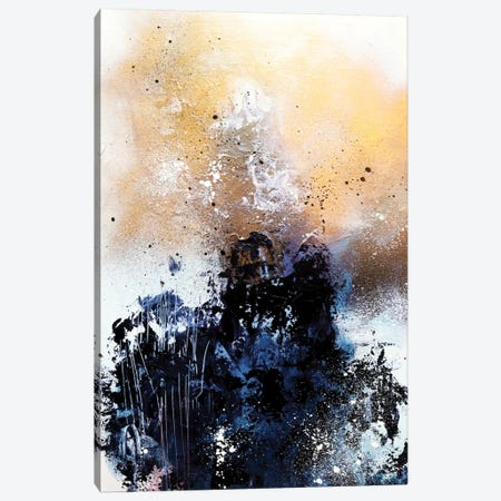 Melting Gold II Canvas Print #SJA14} by SANA JAMLANEY Canvas Artwork