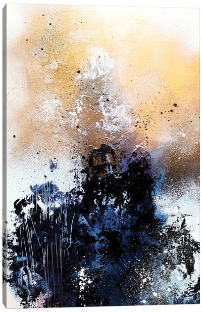 Melting Gold II Canvas Print #SJA14