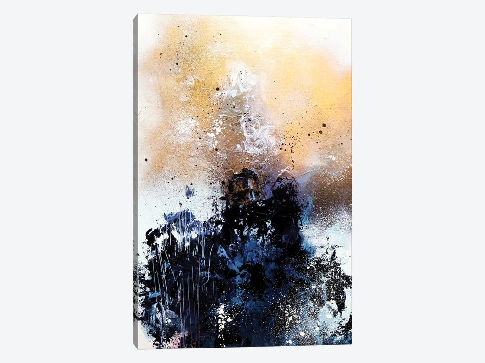 Melting Gold II by Sana Jamlaney 1-piece Canvas Print