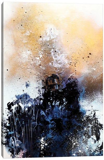 Melting Gold II Canvas Art Print