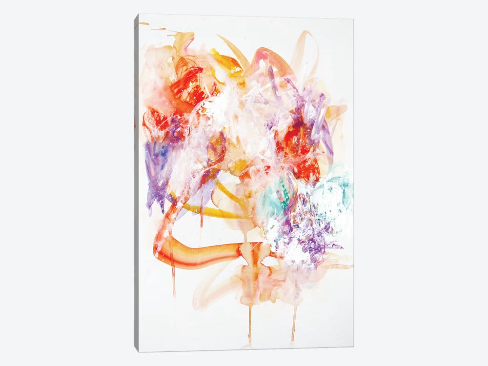 Tastes Like Ice Cream by Sana Jamlaney 1-piece Canvas Art Print